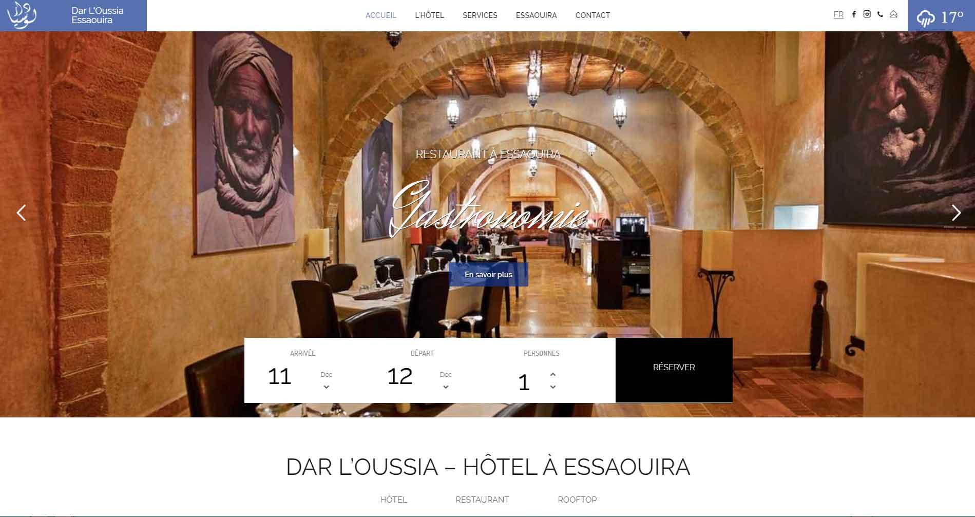 Hôtel à Essaouira